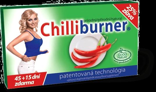 chilliburner na chudnutie
