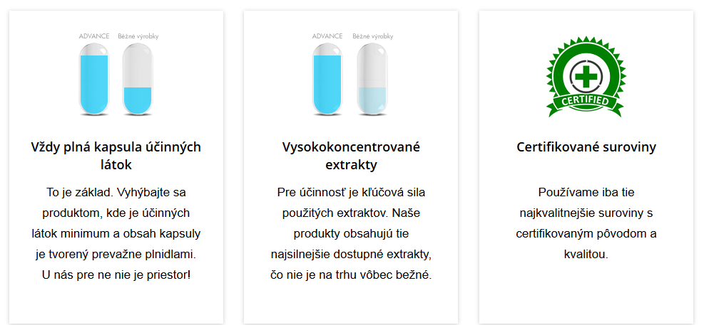 advance nutraceutics - výrobca výživových doplnkov