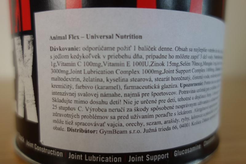 animal flex - zloženie, účinky a dávkovanie