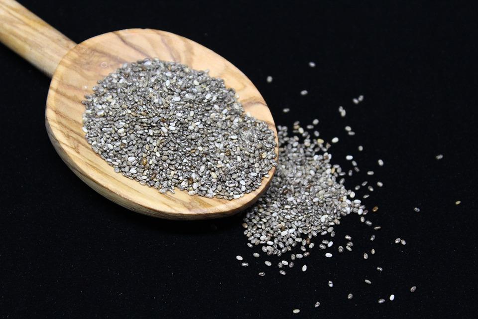 Bio chia semienka - široké použitie