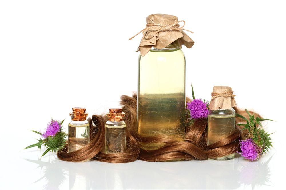 burdock lopúchový olej na vlasy