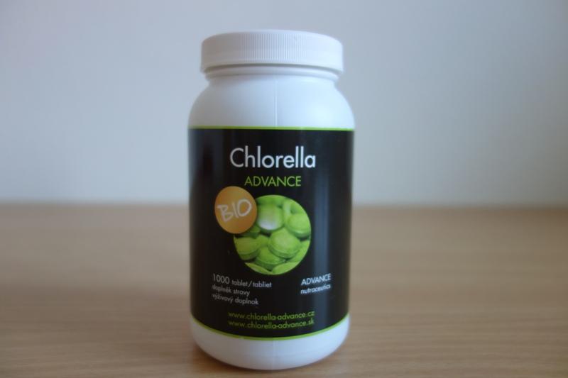 chlorella advance má pozitívne recenzie