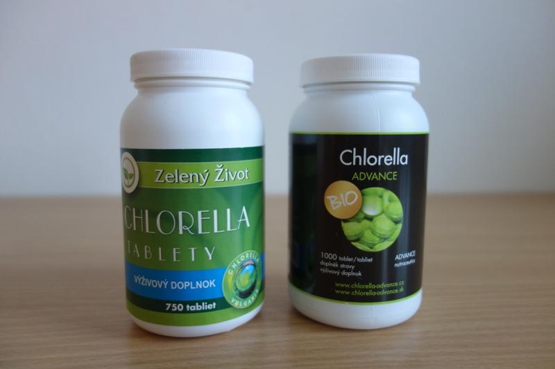 chlorella advance a chlorella zelený život