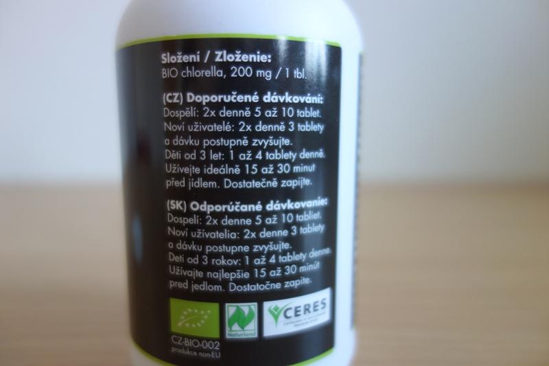 chlorella advance - zloženie a užívanie