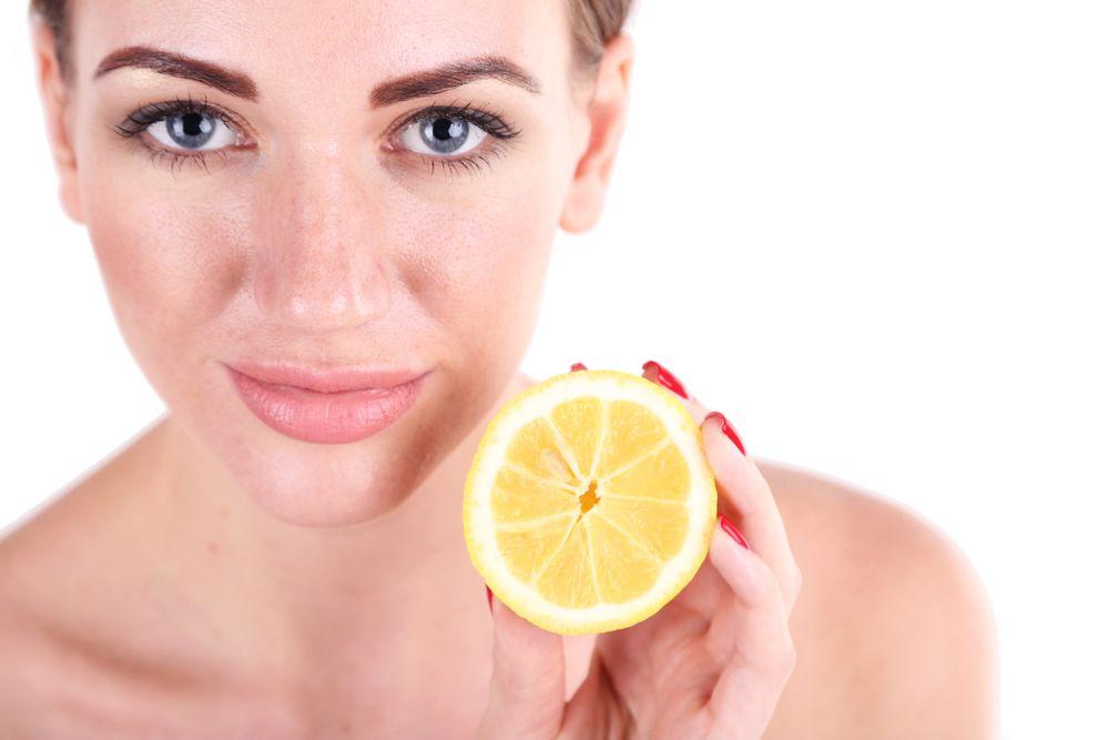 citron na vyblednutie kože