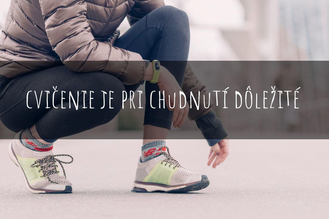 cvičenie je pri chudnutí dôležité