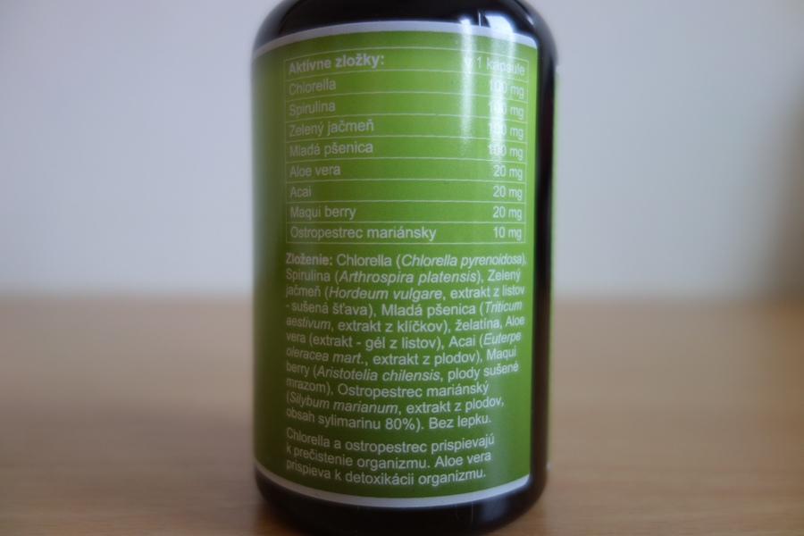 detoxactive zloženie
