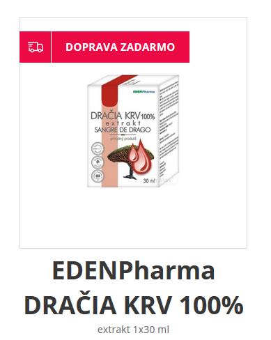 Dračia krv lekáreň DR max