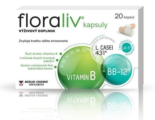 floraliv kapsuly vitamíny probiotiká