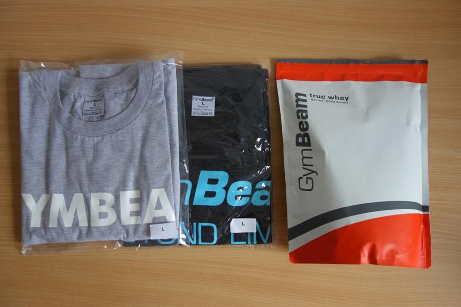 Gymbeam srvátkový proteín + tričko zadarmo