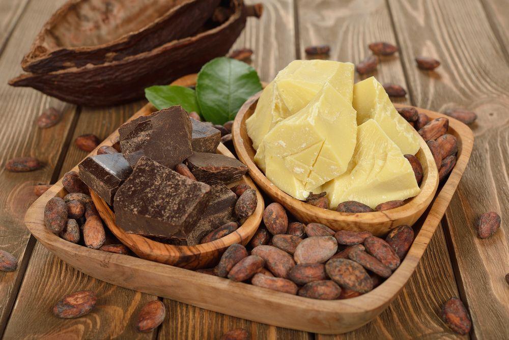kakaové maslo na zjemnenie pokožky