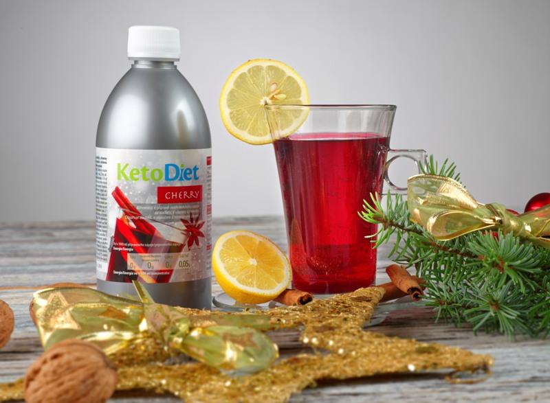 ketodiet cherry nápoj diétny