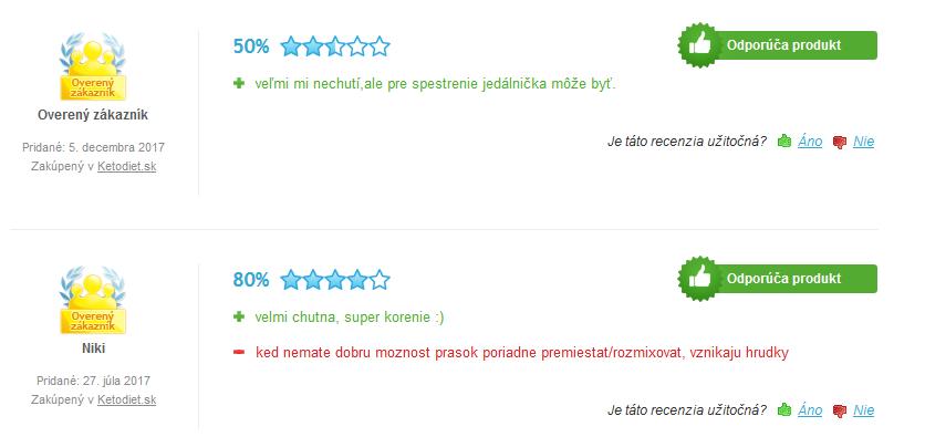 ketodiet - skúsenosti a recenzie na heureka.sk