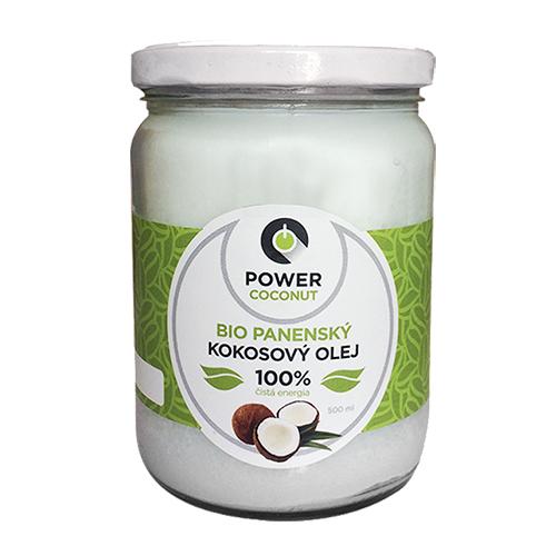 kokosový olej powerlogy
