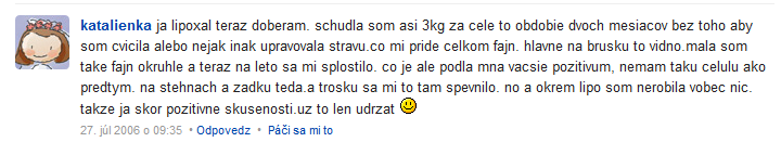 lipoxal - diskusia na fóre modrykonik.sk