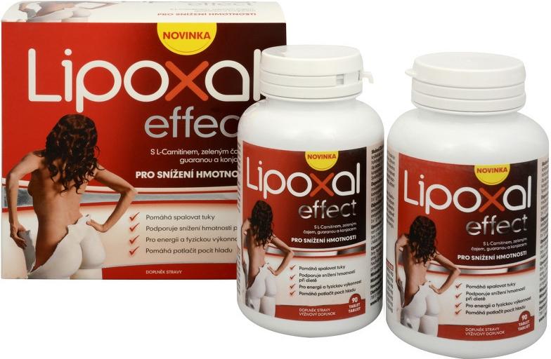 Najlepšie tabletky na chudnutie Lipoxal Effect