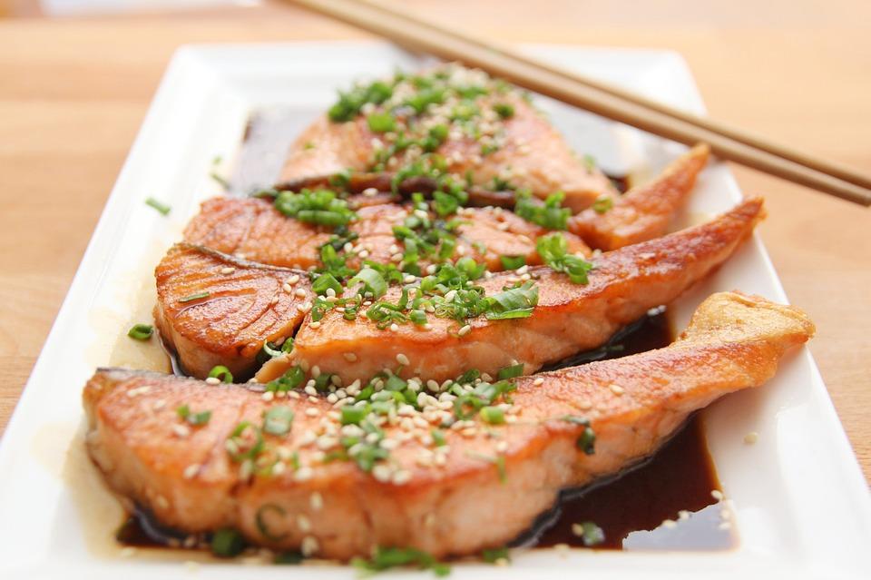 losos bohatý na koenzým q10