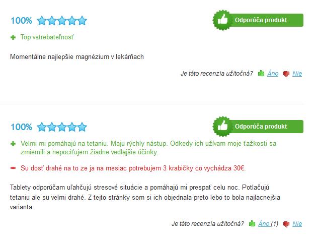 magne b6 skúsenosti na heureka.sk
