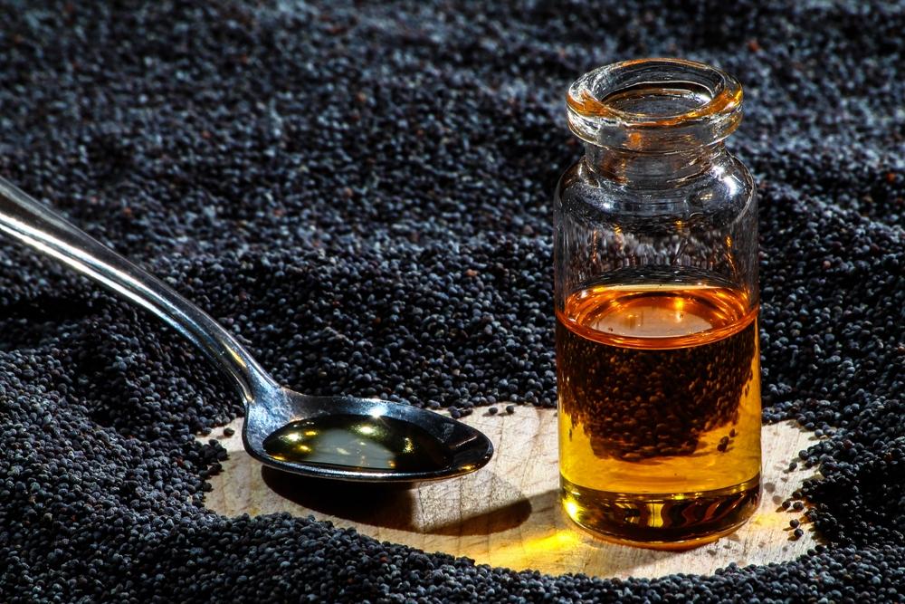 makový olej má široké použitie