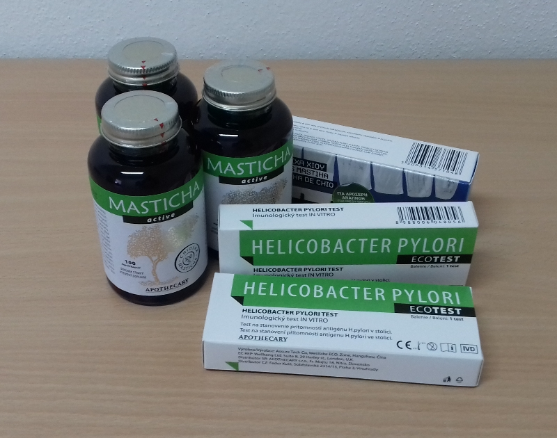 chioská masticha - liečba helicobaktera