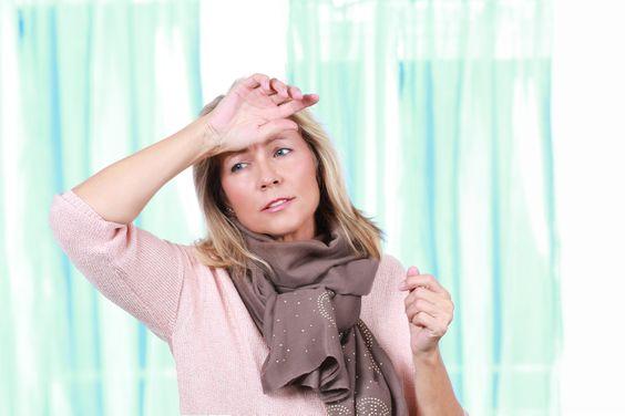 menopauza - návaly tepla, potenie
