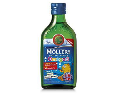Mollers rybí olej tekutý
