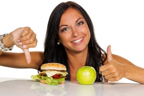 69a647b6002 choosing between hamburger and apple