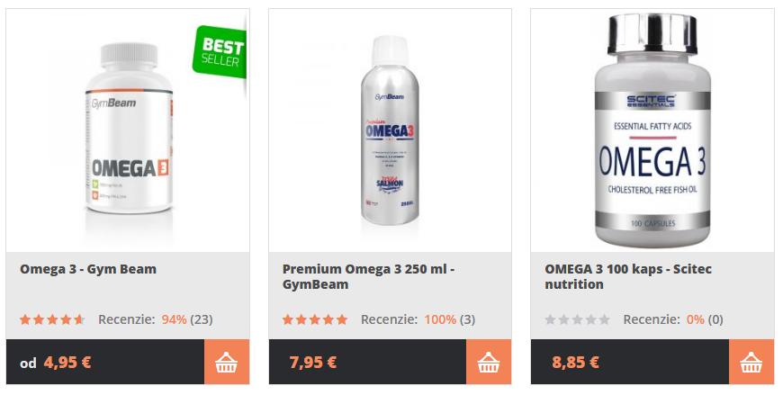 omega 3 od Gymbeam