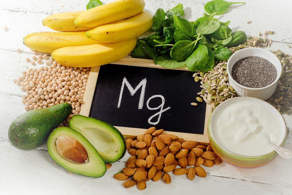 Potraviny s obsahom horčíka (magnézia)