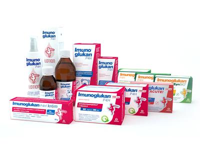 imunoglukan - sirum, krém, mať