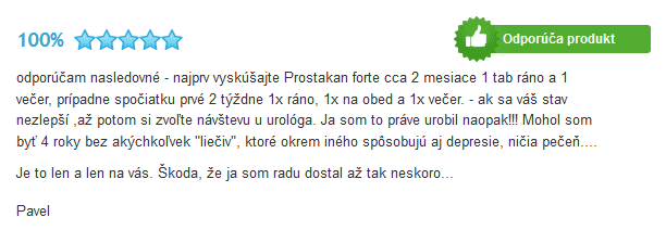 Prostakan skúsenosti v recenzii na heureka.sk