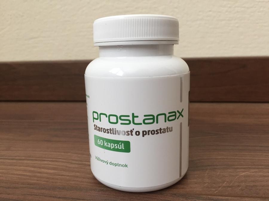 Prostanax na prostatu - recenzia