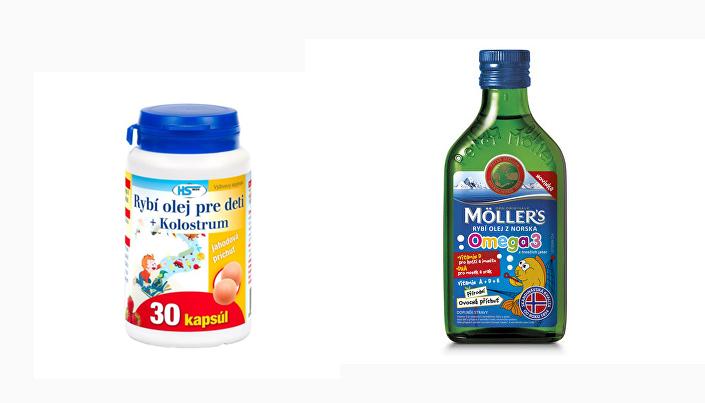 Rybí olej vhodný pre deti
