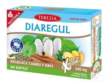 Terezia diaregul na vysokú hladinu cukru v krvi