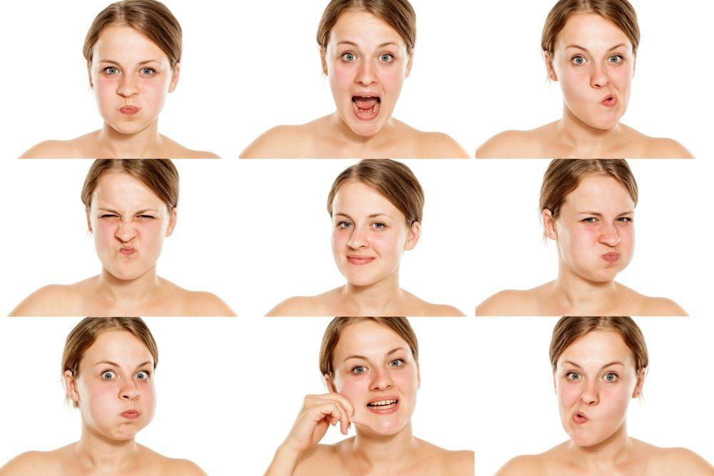 tvárová gymnastika - cvičenie
