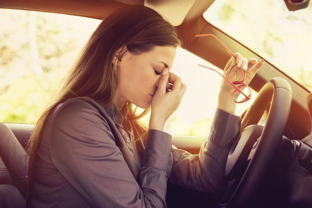 únava je nebezpečná pri šoférovaní
