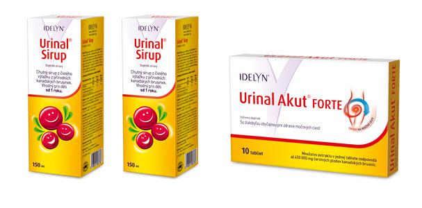 urinal akut produkty na močové cesty