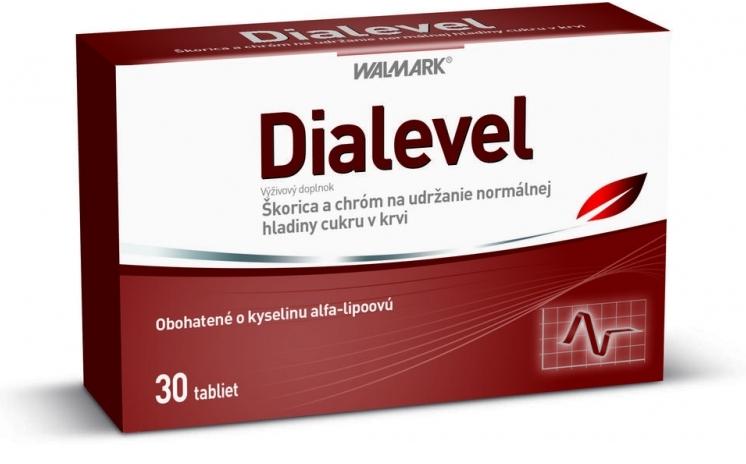 Walmark Dialevel na zníženie hladiny cukru v krvi