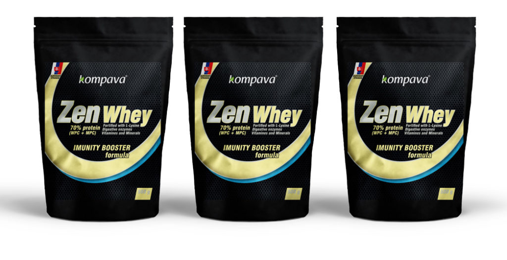 zen whey proteín od kompavy