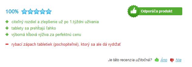 žraločia chrupavka na kĺby recenzia na heureka.sk